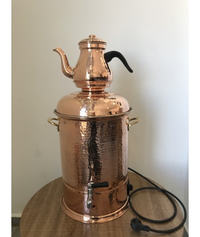 Copper 12L Handmade Samovar