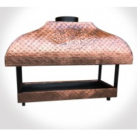 Copper Fireplace Grate Cooktop Copper Mangal Grill Kebab Fireside Barbecue Bakir Mangal BBQ
