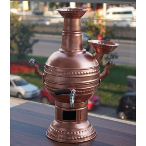Copper Coal Samovar Tea Kettle Tea Maker 3L
