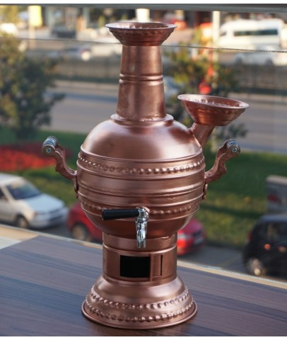 Copper Coal Samovar Tea Kettle Tea Maker 2L