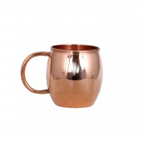 Moscow Mule Solid Smooth Copper Mug 45cL