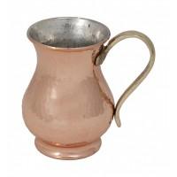 Smooth Copper Tankard Mug